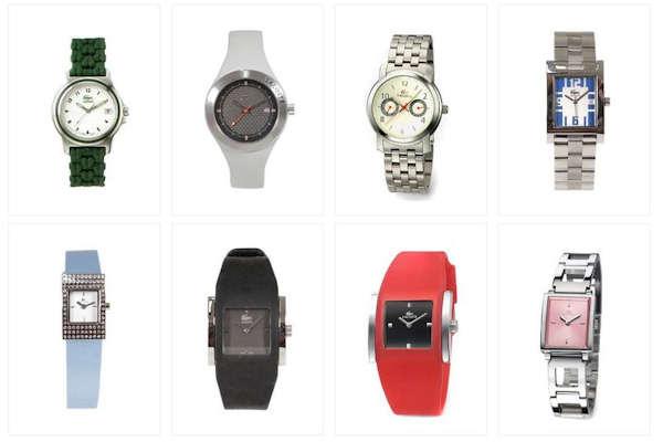85% Έκπτωση σε επώνυμα ανδρικά και γυναικεία ρολόγια Lacoste. Προλάβετε τώρα!