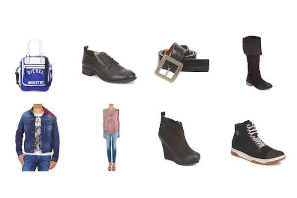 50% Έκπτωση σε πάνω από 400 κωδικούς Diesel για ανδρικά και γυναικεία ρούχα παπούτσια και αξεσουάρ. Προλάβετε!!! Μόνο για λίγες μέρες !!!