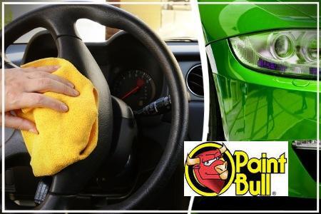 39€ για ένα πακέτο βιολογικού καθαρισμού αυτοκινήτου που περιλαμβάνει, όλα τα μέρη του σαλονιού, του πορτ-μπαγκάζ και τους αεραγωγούς και επιπλέον εξωτερικό πλύσιμο και κέρωμα για έξτρα προστασία του χρώματος στο Paintbull Περιστερίου. Αρχική αξία 140€.